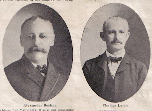 Photo: Becker, Alexander and Lewis, Charles F. b.1862 d.1927 Firm of Becker & Lewis (Large Mercantile Firm)