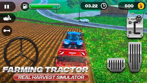Farming Tractor Real Harvest Simulator 2.0 screenshots 6