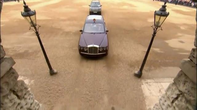 Bentley State Limousine Prince William and Catherine Royal Wedding Rolls Royce Phantom VI