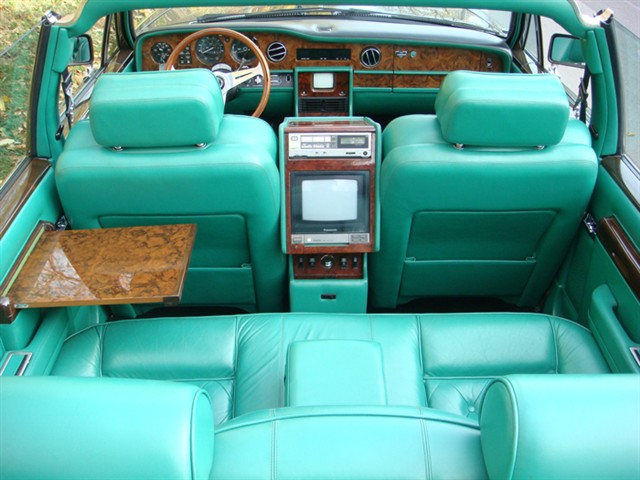 1984 Rolls Royce Silver Spirit Convertible by Carrozzeria Touring