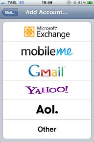 Microsoft Exchange on iPhone