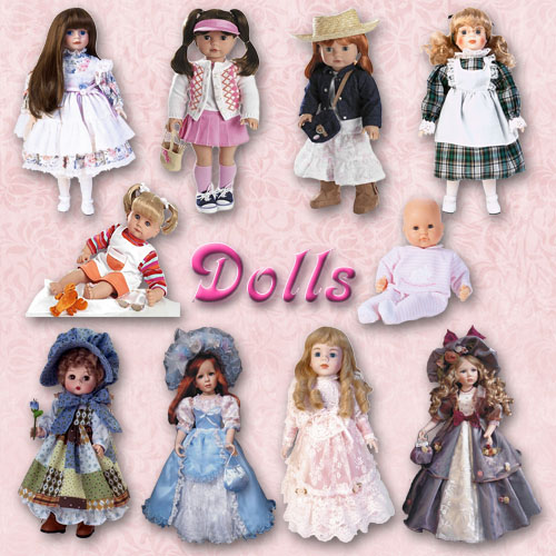 Clipart - Dolls