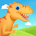 Dinosaur Park - Jurassic Dig Games for kids icon