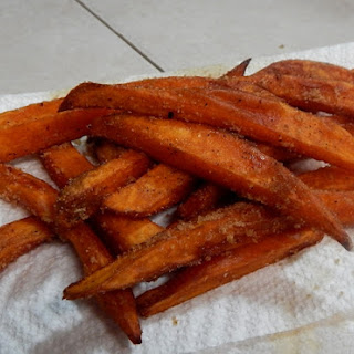 Sous Vide Sweet Potato Fries