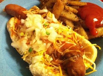 Kick Butt Chili Dog And Fries ! Recipe