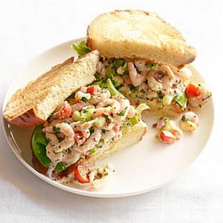 """Shrimp """"Louis"""" Sandwiches."""