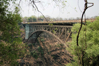 Photo: And the famous bridge built by Cecil Rhodes