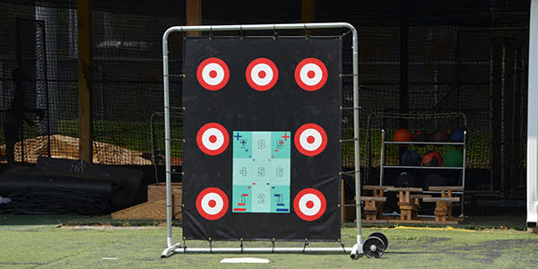 Pitching Target 6' x 7' (with frame)