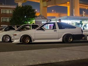 スプリンタートレノ AE86 GT-APEXのカスタム事例画像 かなでわーくすさんの2020年08月14日15:27の投稿