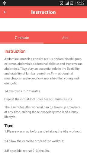 Abs workout 7 minutes 1.21.22 screenshots 7