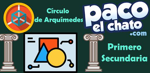 Circulo De Arquimedes Primero Secundaria Google Play De Uygulamalar