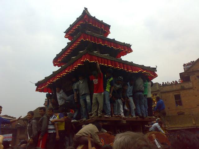 Bhaktapur Bisket Jatra 2067