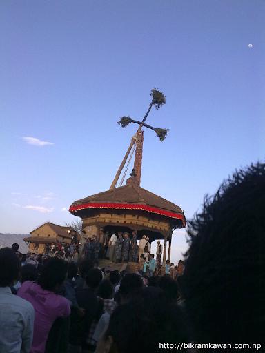 Bhaktapur Bisket Jatra Lingo