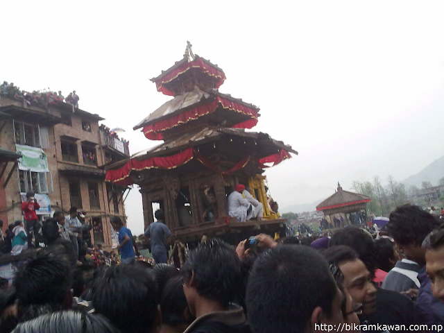 Bhairav Nath Rath Finally at Yosin Khel