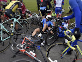 ? Enorme crash ontsiert E3 Harelbeke, Quick-Step en Lotto trekken door