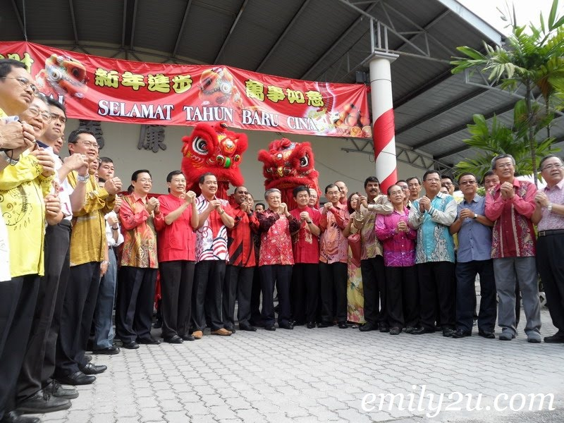 MCA Perak Chinese New Year Open House