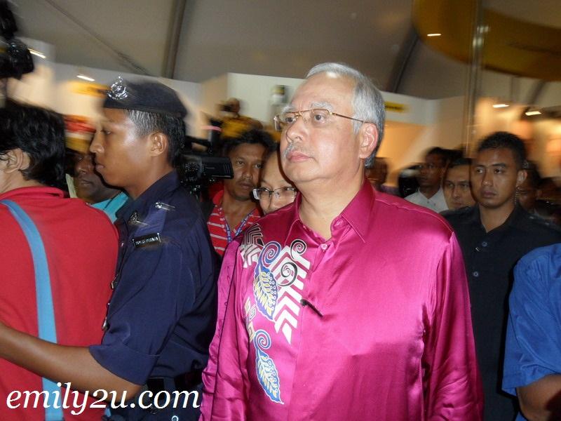 Prime Minister YAB Dato Seri DiRaja Najib Razak