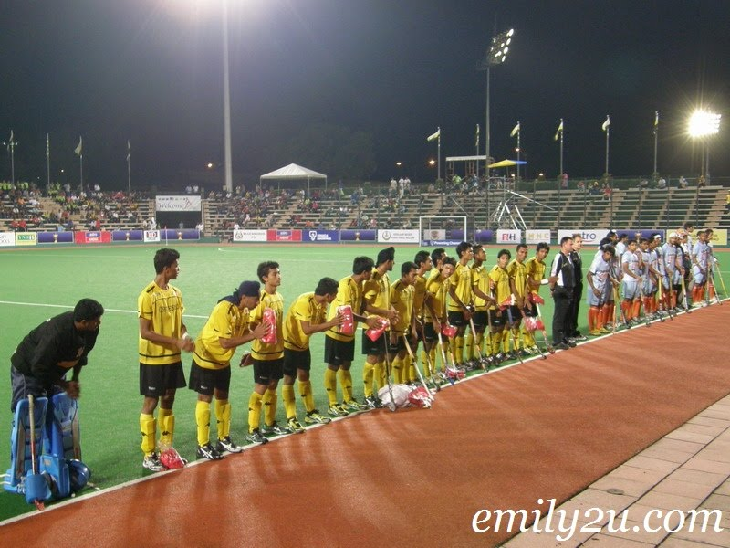Malaysia vs. India (Match 12) Sultan Azlan Shah Cup 2011