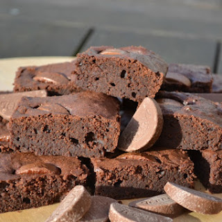 Terry's Chocolate Orange Brownies.