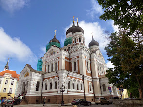 Photo: The Alexander Nevsky Cathedral was commissioned by Czar Nicholas III in the late 19th century.