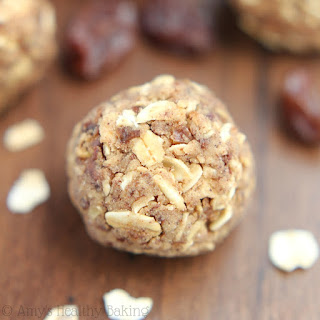 Oatmeal Raisin Energy Bites