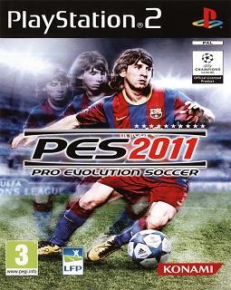 jaquette pro evolution soccer 2011 playstation 2 ps2 cover avant g Pro Evolution Soccer 2011 (PS2)