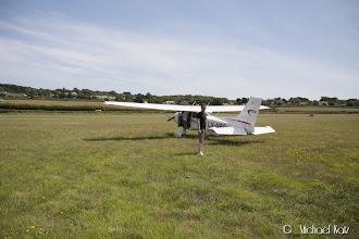 Photo: Etter landing på Bembridge