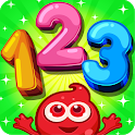 Learn Numbers 123 Kids Free Game - Count & Tracing icon