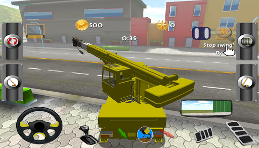 Real Crane Sim 3D