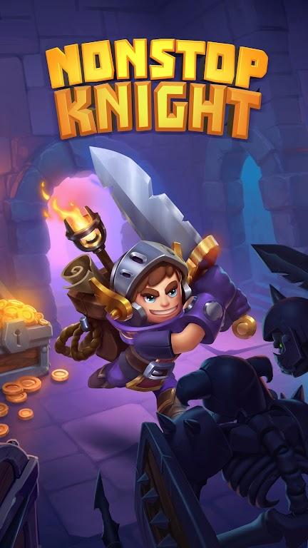 Nonstop Knight - Offline Idle RPG Clicker  poster 0