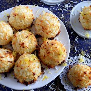 Lemon Coconut Macaroons.