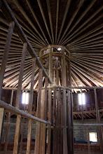 Photo: Interior of Round Stone Barn