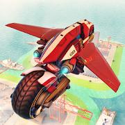 Ultimate Flying Bike Racing Stunts-City Moto Drive