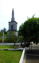 Photo: Location of the fight between Magelan and the Philippinos in 1521
