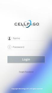 CellPago - náhled