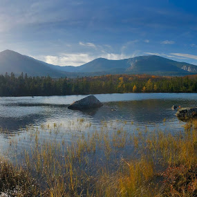Mt. Katahdin by Christopher Kenney - Landscapes Mountains & Hills