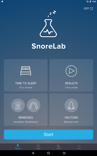 SnoreLab : Record Your Snoring  screenshots 8
