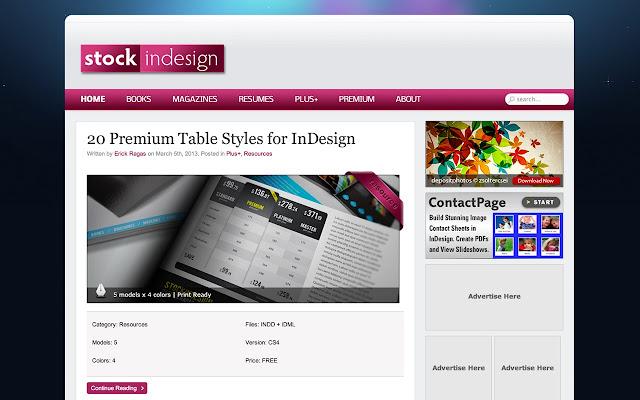 webstore template