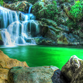 Lhoong Waterfall by Muhammad Syuhada - Landscapes Waterscapes