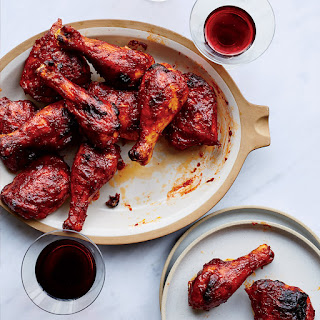 Red Wine BBQ Chicken.