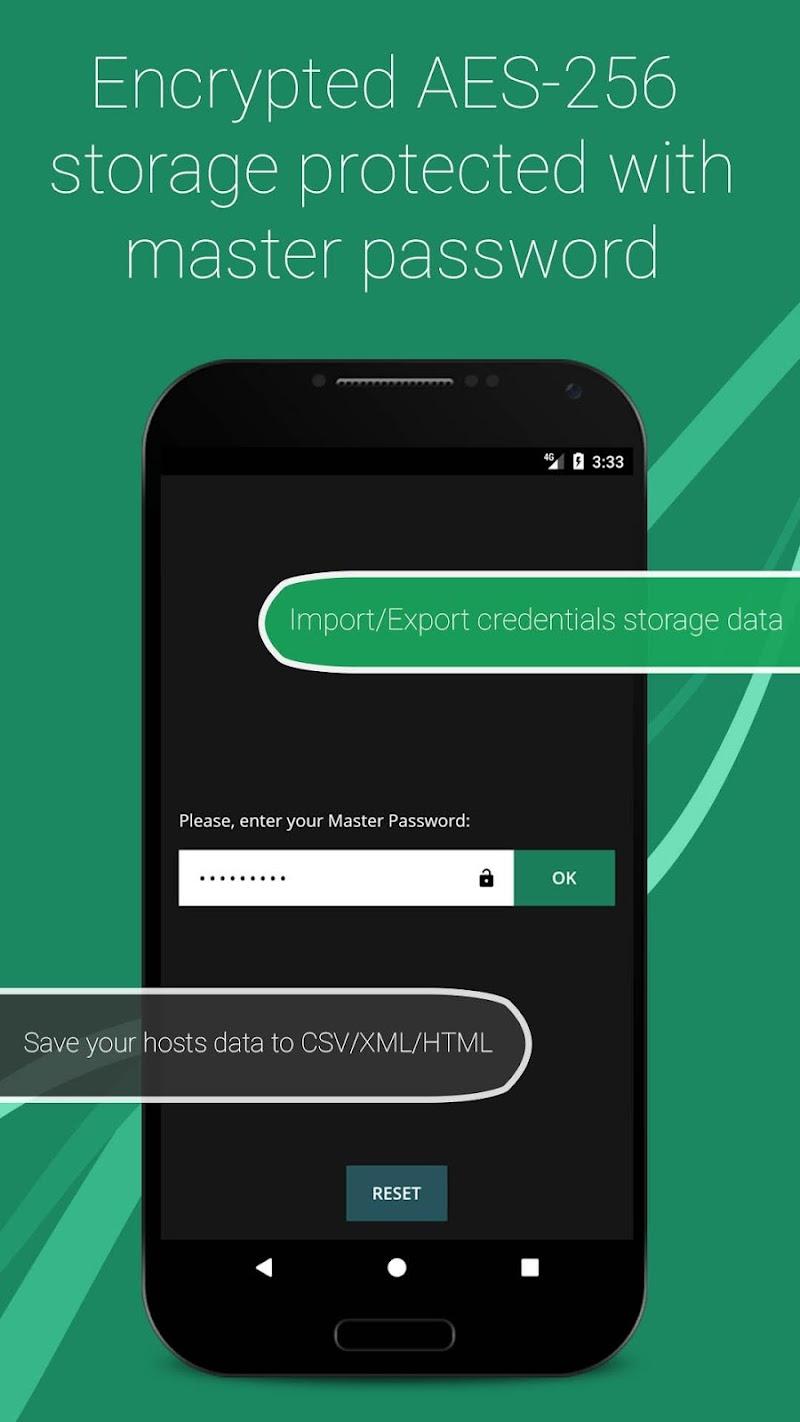SSH/SFTP/FTP/TELNET Advanced Client - Admin Hands Screenshot 3