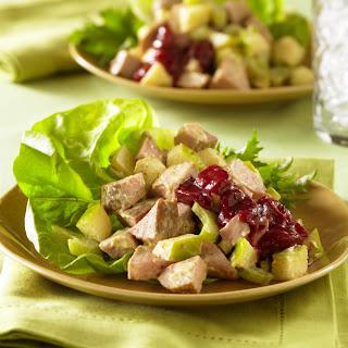 Curried Pork and Apple Salad.