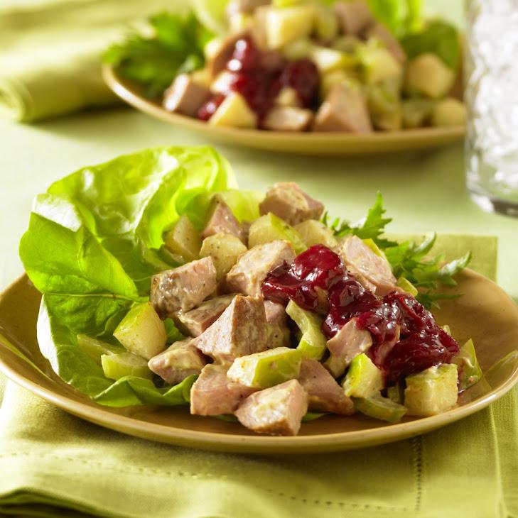 Curried Pork and Apple Salad
