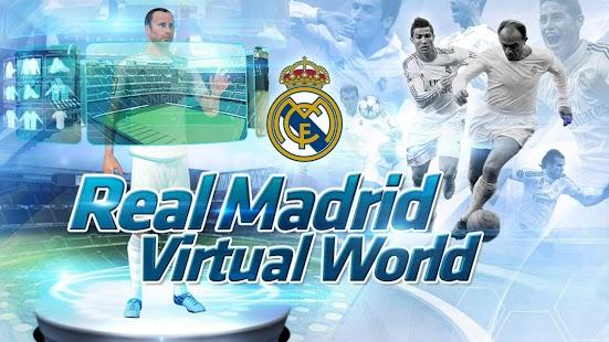 Real Madrid Virtual World - náhled