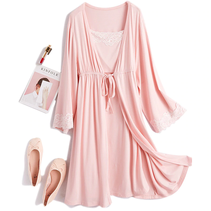 2Pcs/Set Elegant Maternity Dress