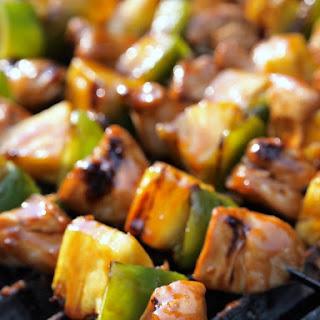 Gluten Free Teriyaki Chicken Kabobs #Chickendotca