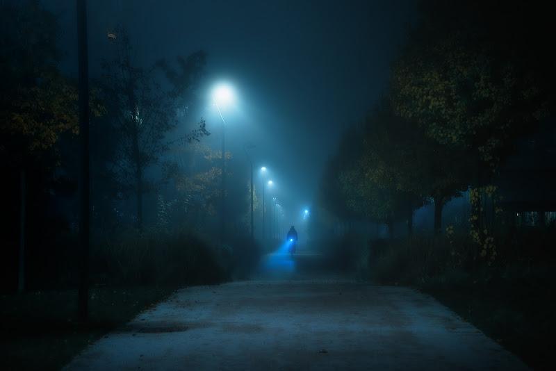 Blue light di wallyci