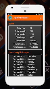 Download Age Calculator By Date Of Birth (Days, Months) For PC Windows and Mac apk screenshot 4