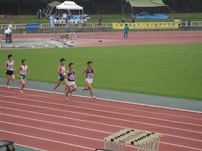 Photo: ベテラン二人がレースを引っ張る(老獪な走り)