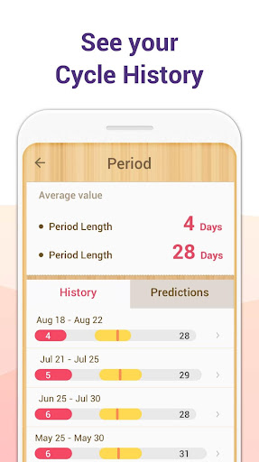 Period Tracker - Period Calendar Ovulation Tracker 1.648.188 screenshots 6